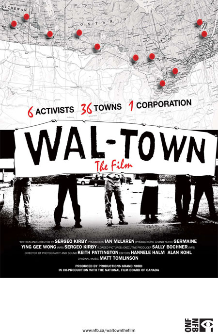 Wal-Town The Film Official Poster